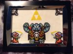 ALTTP Cross Stitch Picture by devilangelwolf27