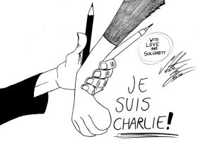 Je Suis Charlie by MortenEng21