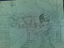 Death The Kid x Maka Albarn XDD by OpeChan