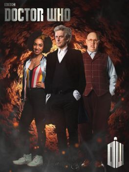 The Doctor, Bill and Nardole series 10 by SimmonBeresford