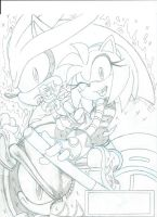 Sonic Universe Secret Rose fan cover teaser 1 by trunks24