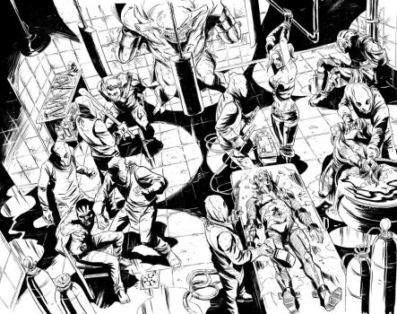 Suicide Squad sample 2 and 3 by Ferigato