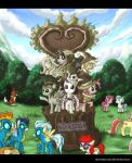 MLP Fim Statue of Friendship ver_2 by alexmakovsky