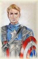 Captain America by Hoshiko91
