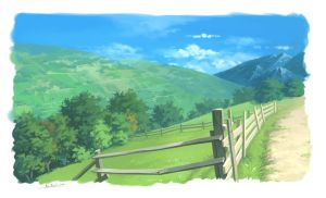 Rural road by lisiCat