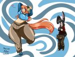 Nashi And Lupin Squishy Dance Colored by Anubis2Pabon288
