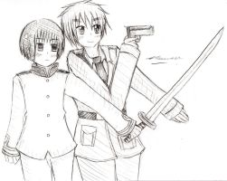 APH: Japan and England by Selinawen
