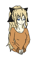 Lilly Satou Flat-Color by my-name-is-totoro