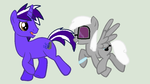 Jac and Silver by Kaitkat123