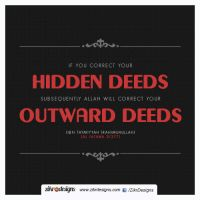 Correct Your Hidden Deeds by abuKhashiyah