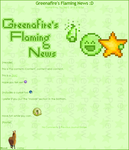 Greenafire'sFlamingNews-Update by Q8Toba