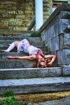 zombie stairs by justcausephotography
