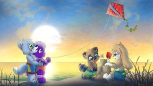 Coast Time Fun by Tavi-Munk