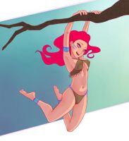 Jungle girl by Doby99