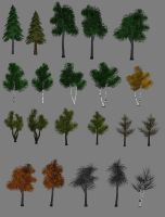 Lowpoly Tree - old stuff by reQuiem3d