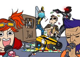BORDERLANDS: Monopoly by sheiku92