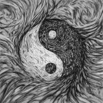Yin Yang Abstract by SteveAllred