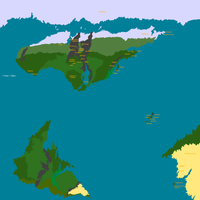 Ettra - Map of the Known World (WIP) by Krediath