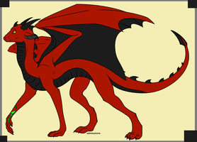 Will Knight - Dragon form by SassyDragon18