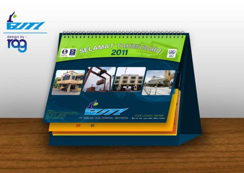 Calender Duduk 2011 BJTI by relyv
