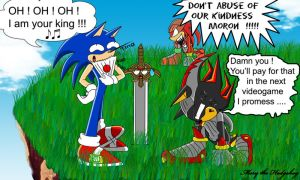Epic win for Sonic  :D by Mery-the-Hedgehog