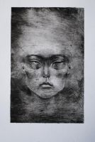 untitled dry point print by Ziggster