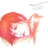 Camui Gackt-san in gradient by AbyssDemon
