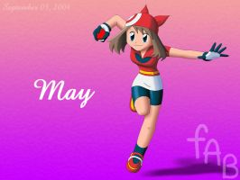 Pokemon Trainer May by fab-wpg