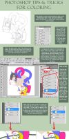 Photoshop Tips+Tricks 4 Colors by sethron