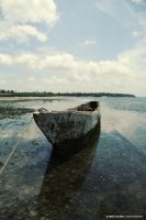 Old fishing boat by Cromium