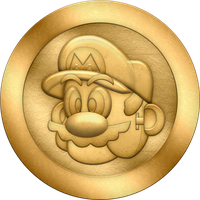 SML2: Mario Zone Coin by BLUEamnesiac