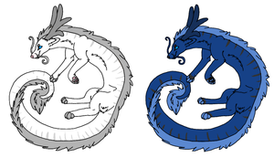 dragon adopts by echoing-adopts