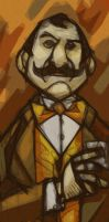 Hercule Poirot by Equattro