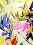 Sonic Vs Metal Sonic-Colors by ChickenDoodleSoup