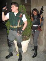Chris and Regina team by Chris--Redfield