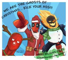 MVC3 - SantaPOOL and Friends by groundzeroace