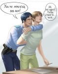 Birthday Gift: Aomine and Sakurai by AtreJane
