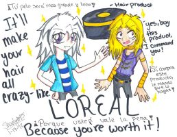 L'OREAL Cuz you're worth it by Shadystar95