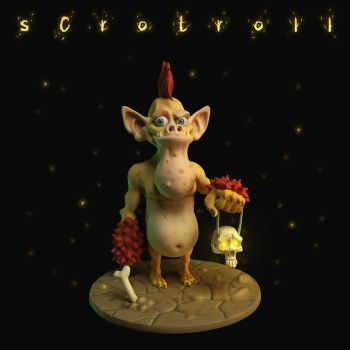 scrotroll by Entropician