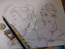 Disney's Beauty and the Beast- Belle by Valion4