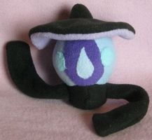 Shiny Lampent Pokedoll by AmberTDD