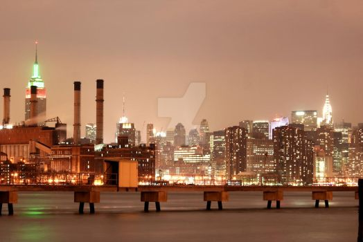 NYC Skyline by hyperactive122986
