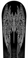 Snowboard Design - Template 2 by caioneach