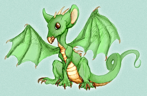 Baby Dragon by Sims9287