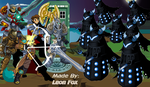 Attack of the Dageks by PokemonTristan