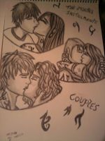 The Mortal instruments couples by Laineyfantasy