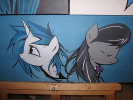 Vinyl and Octavia by Juu50x