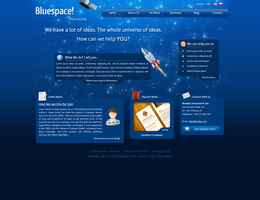 Redesign: Bluespace by: michae by WebMagic