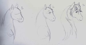 ((horse face tutorial by askponyswan