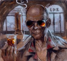 hunter s thompson by moritat